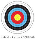 Archery sport target 72281046