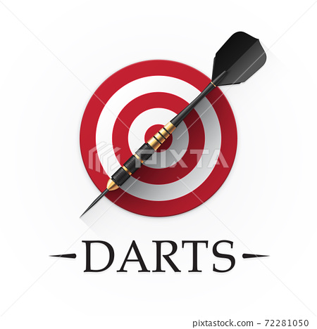 Darts game emblem 72281050