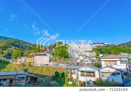 靜岡縣熱海市山坡上的風景 72289169