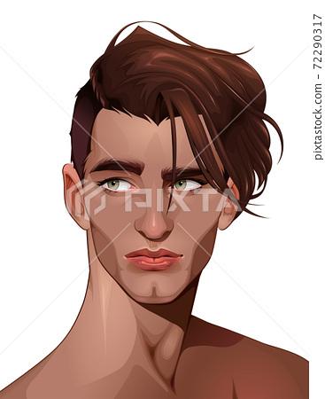 Portrait of a beautiful boy 72290317