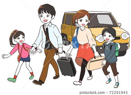乘坐輕型汽車旅行 72291943