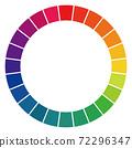 24 color wheel 72296347