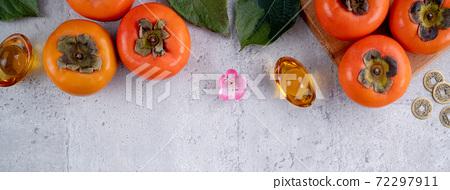 柿子 農曆新年 新年 紅包 persimmon chinese new year あまかき 甜柿 72297911