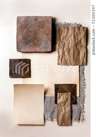 Creative layout empty squares 72300347