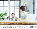 Telework family unity 72304079