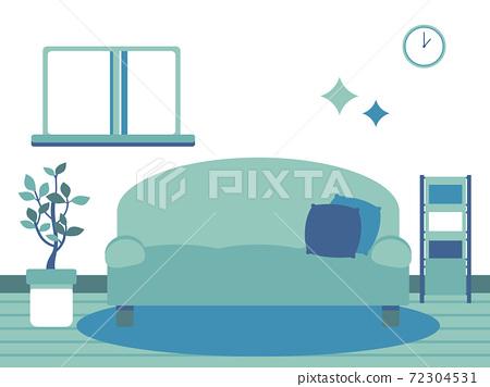 美麗的生活空間圖(簡單的顏色) 72304531