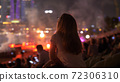 Woman Enjoys Concert 72306310