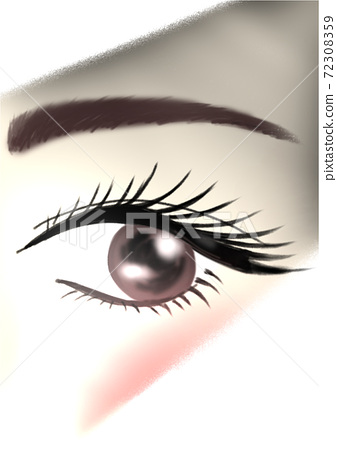 For the eyes you want to be with false eyelashes 72308359