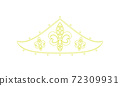 頭飾線描illustration_31 72309931