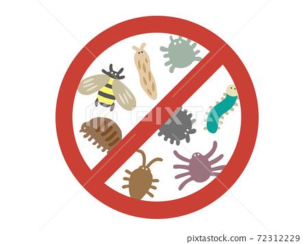 手繪插畫的害蟲防治 72312229