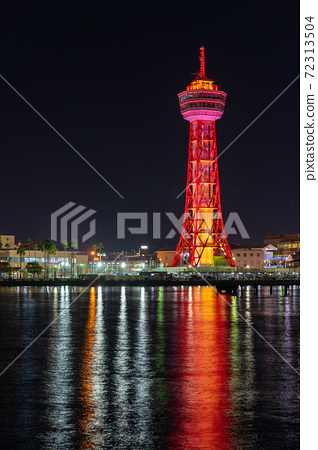 Fukuoka City Cityscape / Scenery Hakata Port Tower and Bayside Place after Renewal 72313504