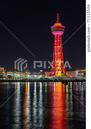 후쿠오카시의 거리 · 풍경 리뉴얼 후 하카타 포트 타워와 베이 사이드 플레이스 72313504