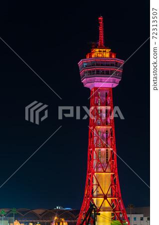 후쿠오카시의 거리 · 풍경 리뉴얼 후 하카타 포트 타워와 베이 사이드 플레이스 72313507