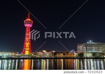 후쿠오카시의 거리 · 풍경 리뉴얼 후 하카타 포트 타워와 베이 사이드 플레이스 72313523