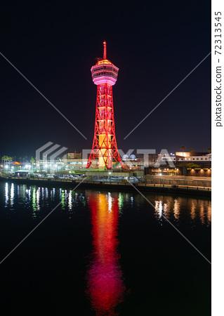 후쿠오카시의 거리 · 풍경 리뉴얼 후 하카타 포트 타워와 베이 사이드 플레이스 72313545