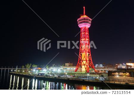 후쿠오카시의 거리 · 풍경 리뉴얼 후 하카타 포트 타워와 베이 사이드 플레이스 72313554