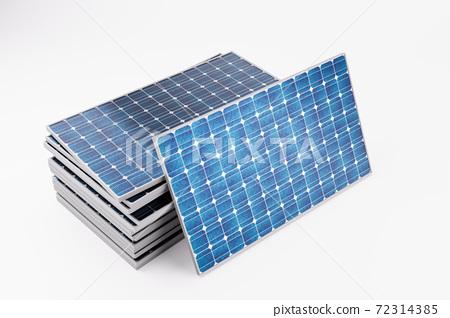 태양광 솔라 패널과 친환경 에너지 72314385