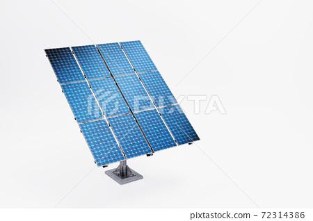태양광 솔라 패널과 친환경 에너지 72314386