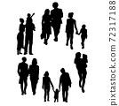各種生活方式的形象剪裁 72317188