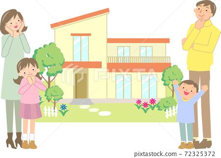 選擇自己的家的微笑家庭 72325372