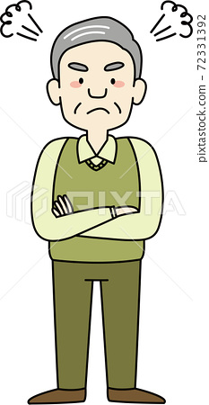 憤怒的祖父(全身) 72331392