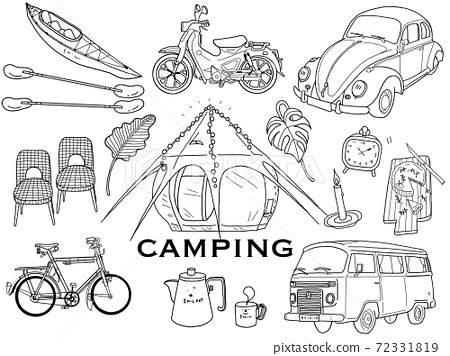 時尚豪華露營的各種好處的插圖 72331819