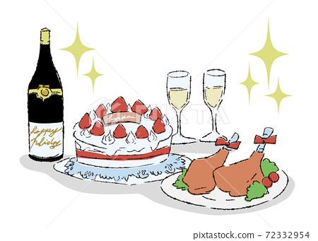 兩個小小的豪華晚宴 72332954