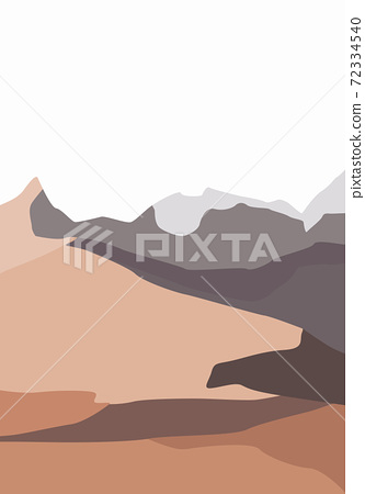 Composition of nakd mountains. Beauty peisages in nature 72334540
