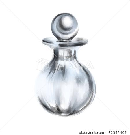 Perfume bottle mermaid 72352491