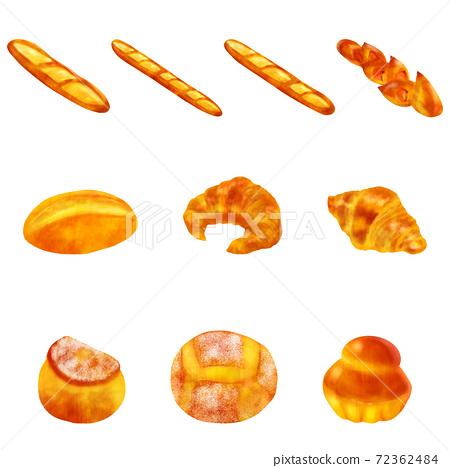 法式麵包集 72362484
