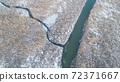 Comana lake in winter 72371667