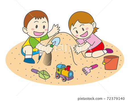 모래 장난 72379140