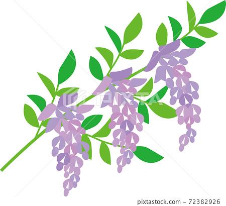 紫藤花固體塗料 72382926