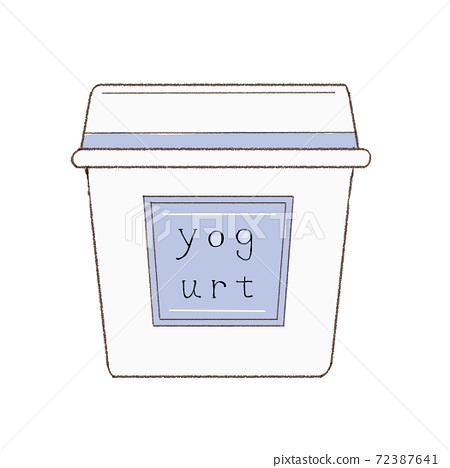 Simple yogurt 72387641
