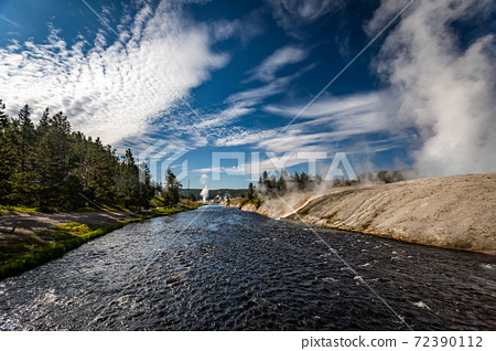 Firehole River Yellowstone 72390112