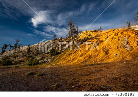 Mammoth Hot Spring Yellowstone 72390195