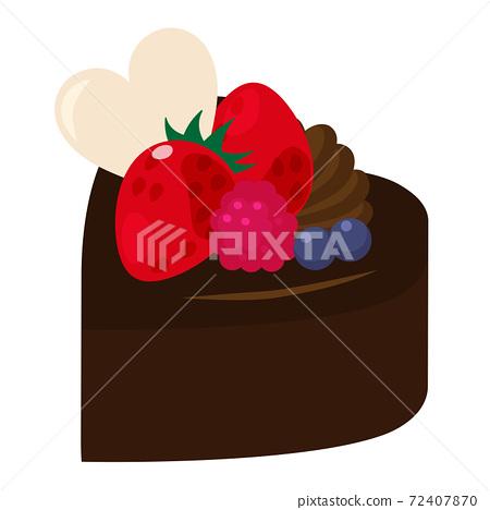 巧克力蛋糕 72407870