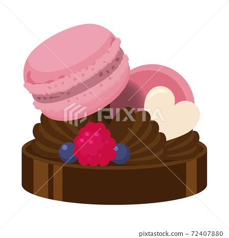 巧克力蛋糕 72407880