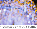 Colorful of bokeh background 72415087