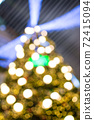 abstract  blurred   background of christmas  lighting 72415094
