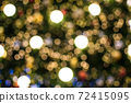 Colorful of bokeh background 72415095