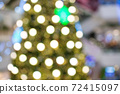 abstract  blurred   background of christmas  lighting 72415097