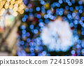 Colorful of bokeh background 72415098