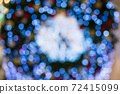 Colorful of bokeh background 72415099