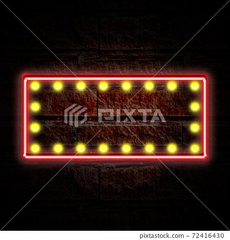 霓虹燈管式照明面板 72416430