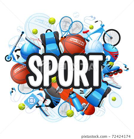 Summer Sports Concept 72424174
