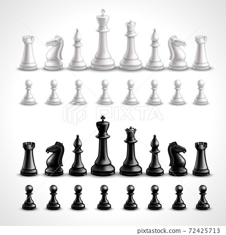 Realistic Chess Figures 72425713