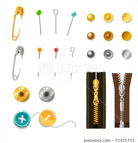 Metal Accessories Set 72425753