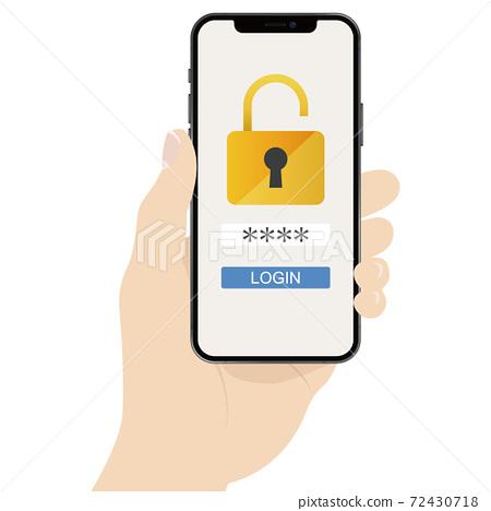 智能手機身份驗證 72430718