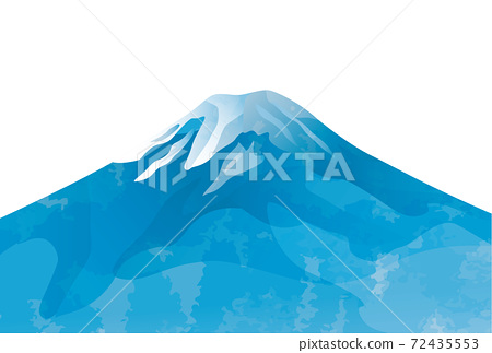 일본 후지산의 아름다운 일본식 이미지 배경 일러스트 72435553